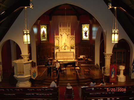 Saint Paul's Episcopal Cathedral, Oklahoma City (photo taken 2008).